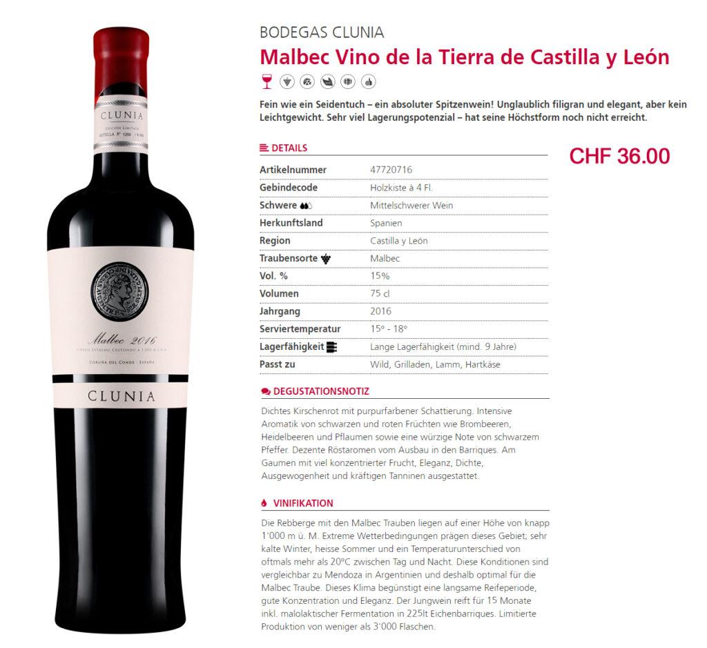 Malbec Vino de la Tierra de Castilla y León